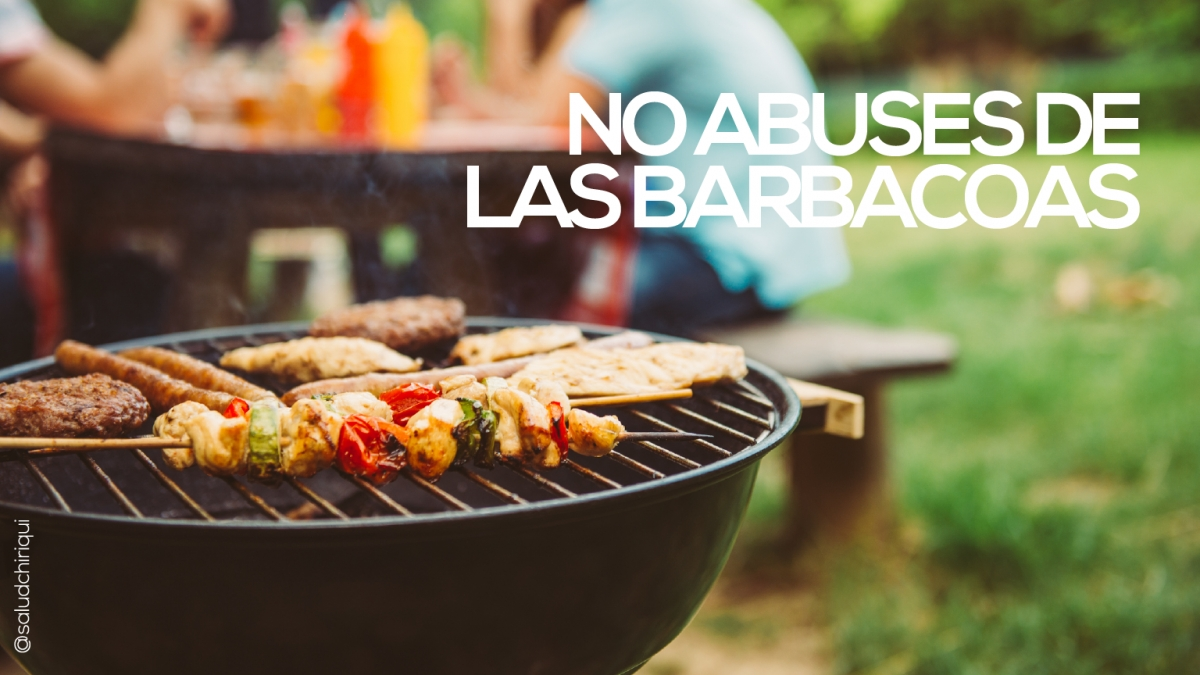 No abuses de las barbacoas